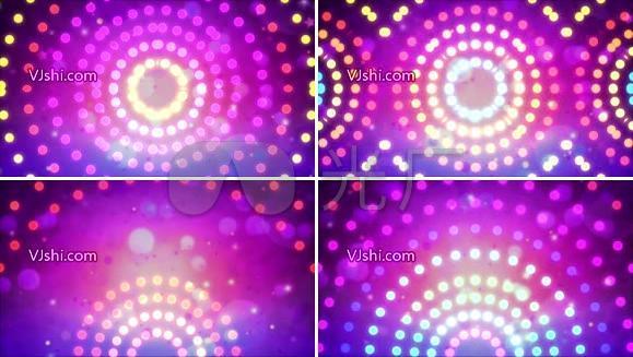 唯美舞蹈灯光粒子LED视频