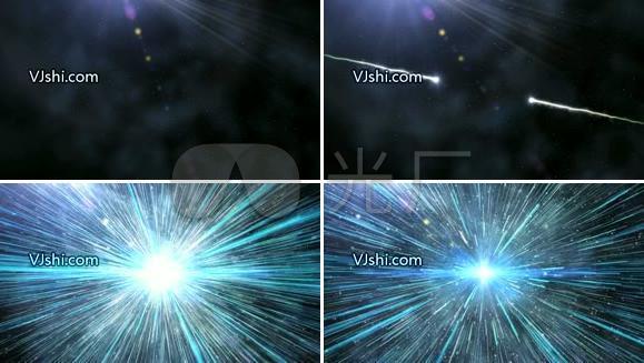 宇宙爆炸高清视频素材