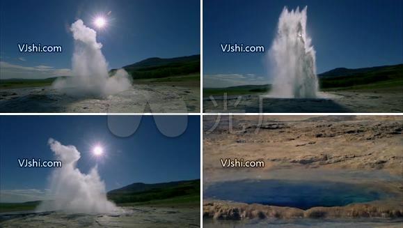 实拍各种喷泉水奇观