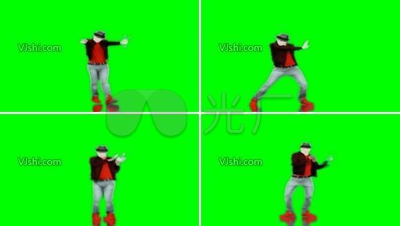迈克尔 杰克逊 经典舞步可抠图