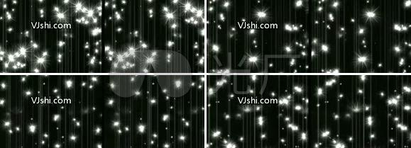 璀璨灯光闪烁视频背景