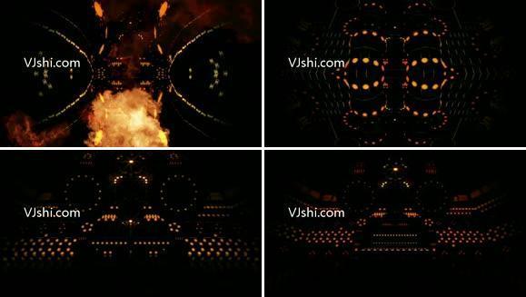 印度舞神秘机械运动