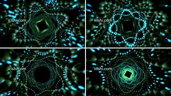 【精品】高清圆圈粒子扩散