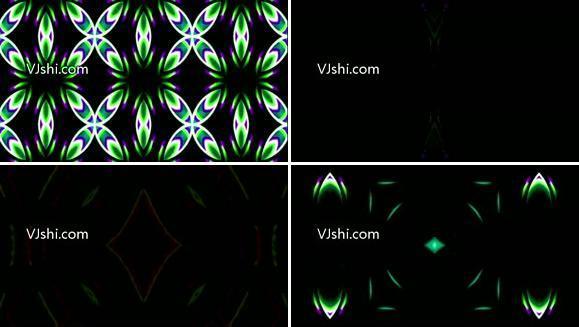 3D立体三维粒子视频素材线条