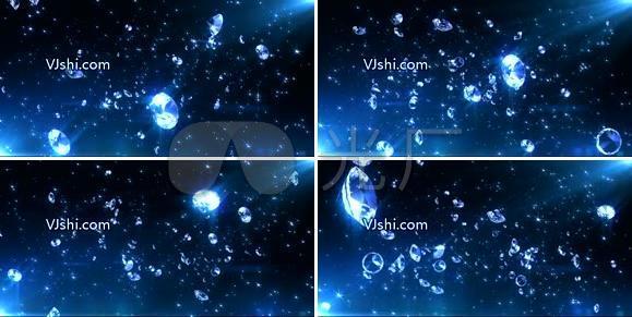 原创钻石星空背景