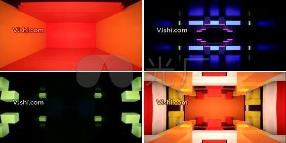空间结构逐格动画