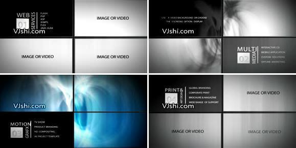 公司业务板块介绍展示文字logo