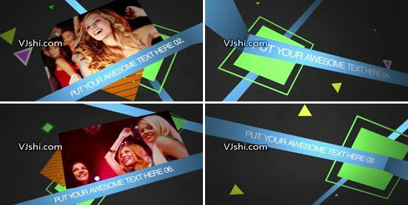 时尚动态图文展示AE模板