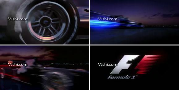 f1赛车激情片头