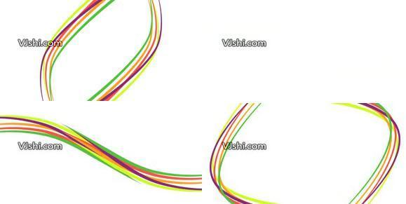 彩色线条动画