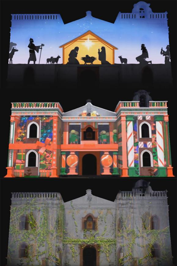 3D全息投影罗马教堂