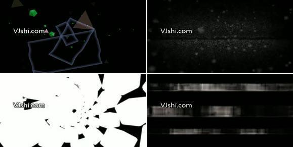 黑白变换VJ循环