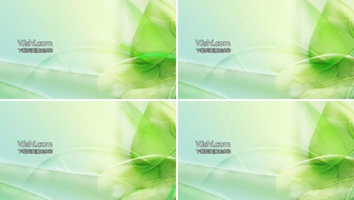 绿色植物系设计背景