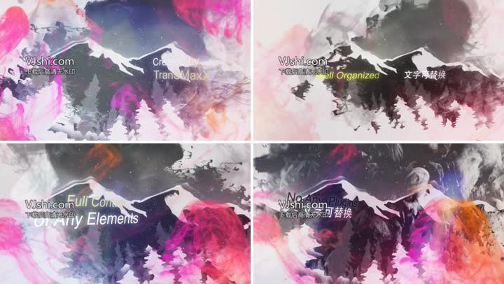 Ink动画大气水墨风格宣传片视频企业文化
