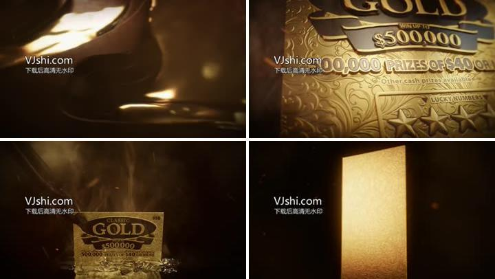 金块铸造液体金流动的金
