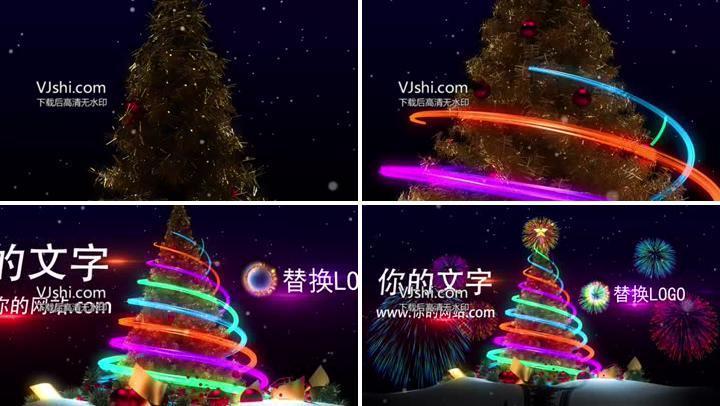 圣诞节AE模板
