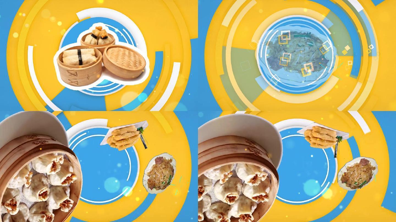 美食led视频素材