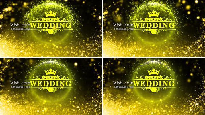 唯美主题婚礼背景视频