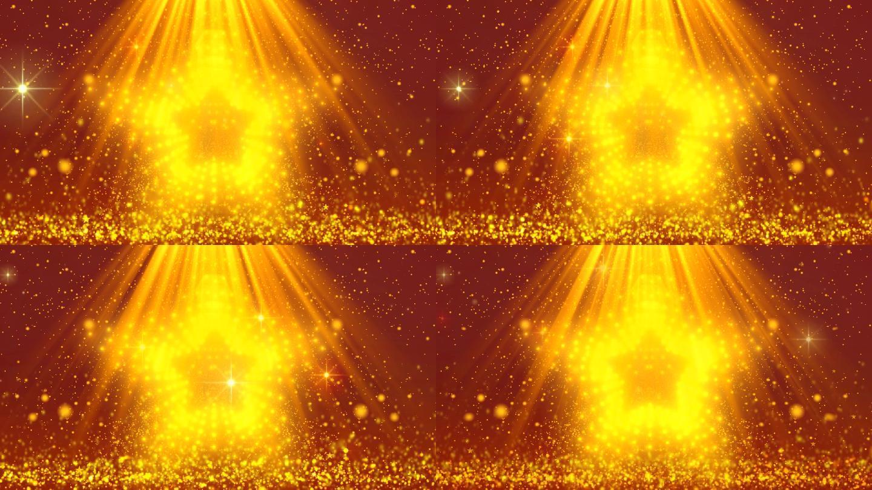 大气星光粒子光线