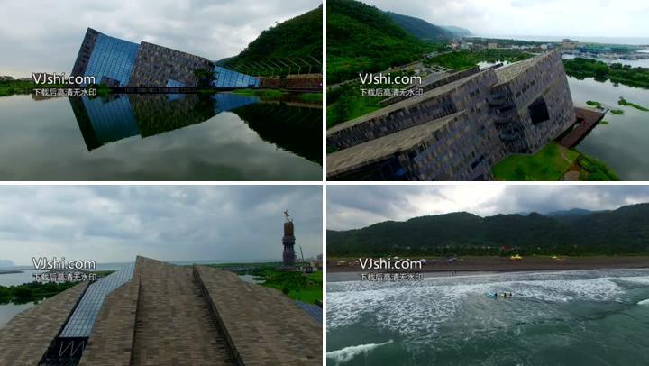 4K中国海滨城市美景宣传片航拍