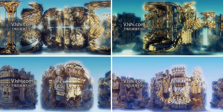 360全景vr分形视觉艺术