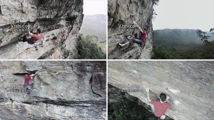 攀岩极限运动