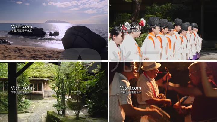 日本九州鹿儿岛旅游宣传片9126