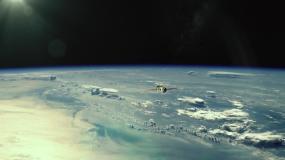 中国航天火箭神舟嫦娥号发射卫星视频素材