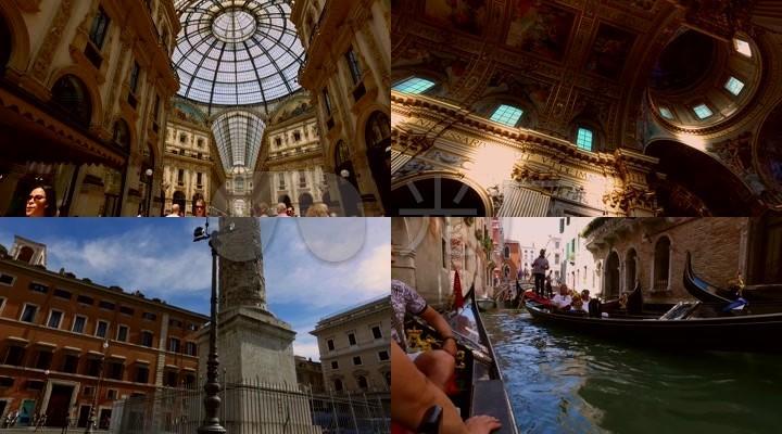 美丽的意大利---罗马米兰威尼斯
