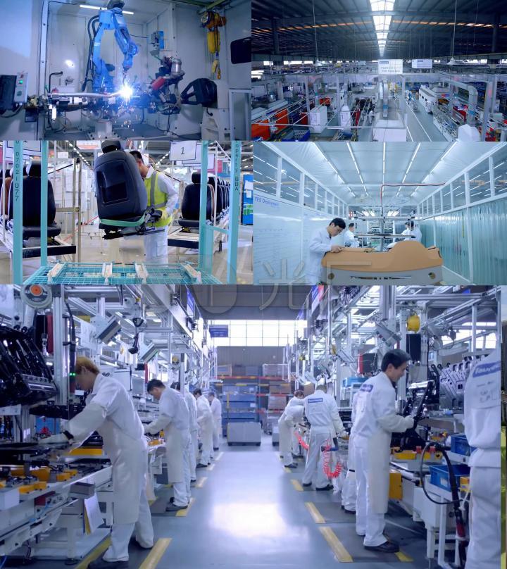 汽车零部件内饰生产设计工业4.0时代