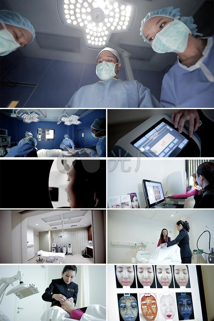 美容手术视频素材