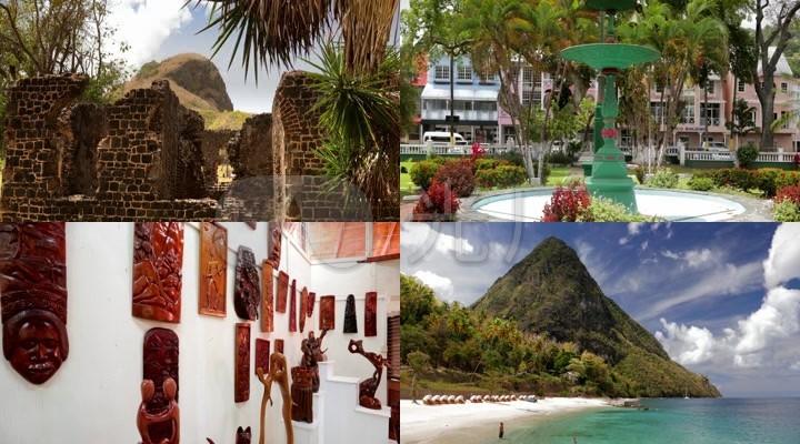 加勒比海圣卢西亚岛国旅游宣传片10431
