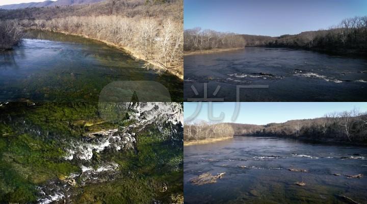 4K雪兰多国家公园-河流-水源地-水资源