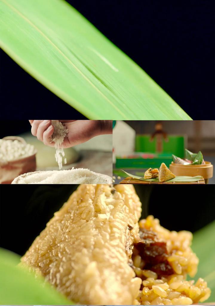 传统佳节端午粽子粽籺肉粽制作