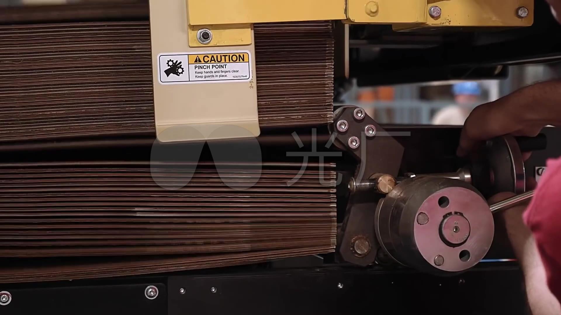 绿色环保瓦楞纸箱生产全过程_1920X1080_高