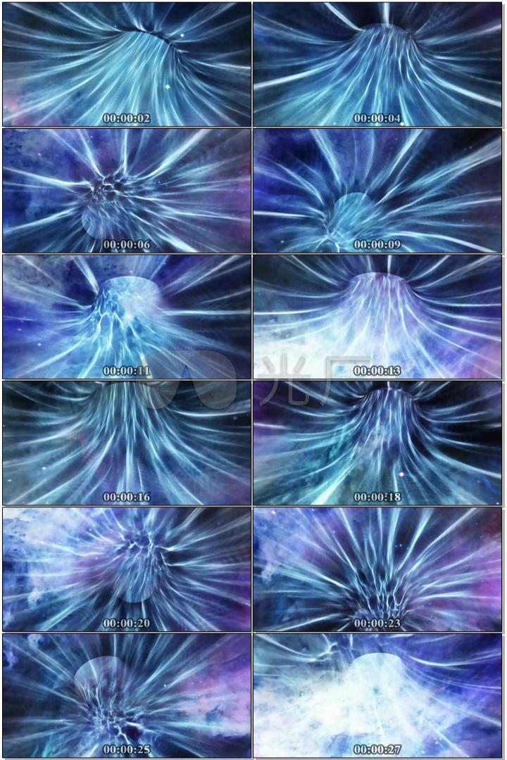 星空旋涡隧道