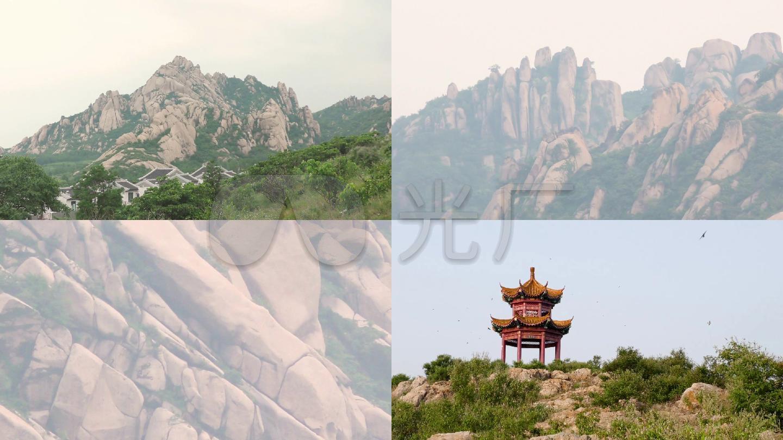实拍高清嵖岈山风景区视频