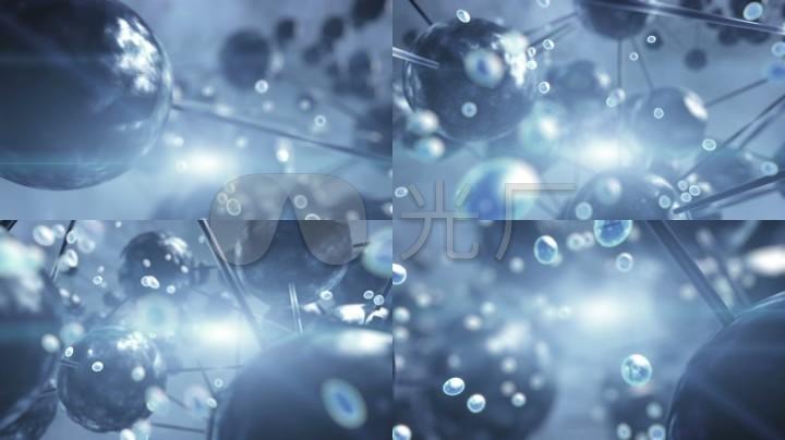 微观分子结构