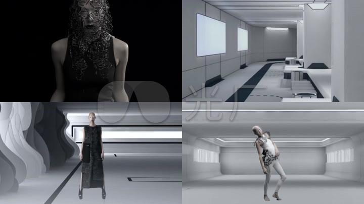 科技未来恐怖人物舞蹈