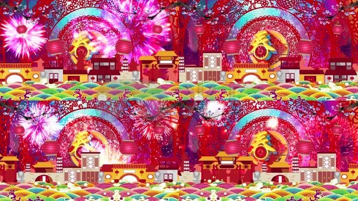 新年喜庆《春节序曲》乐曲配乐_1920X1080_