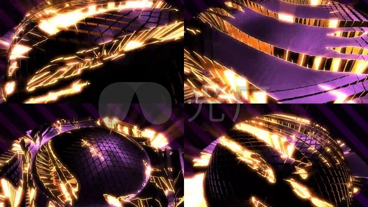 抽象炫酷舞台背景视频