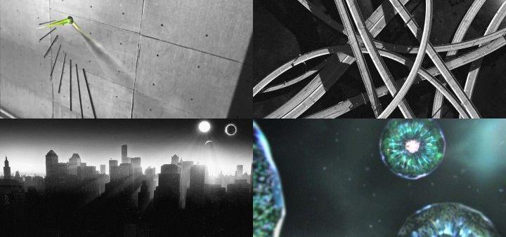 時光流逝光影變化建筑萬能鏡頭