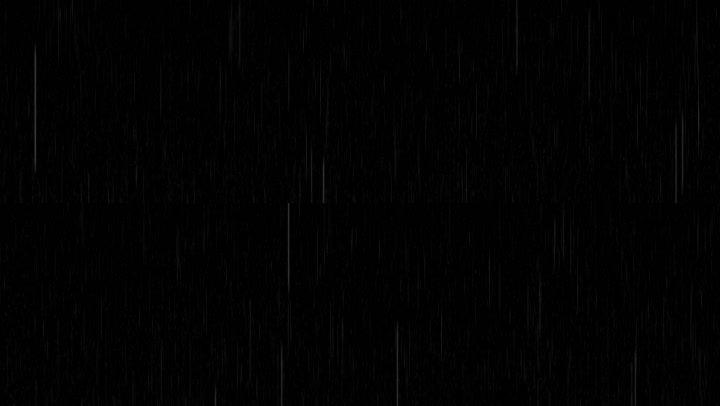 黑屏下雨天