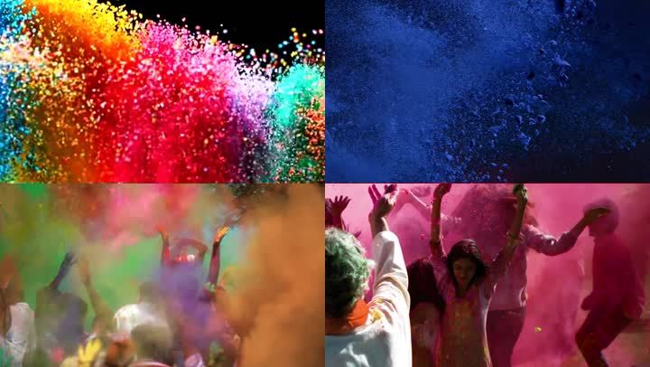 彩虹派對粒子
