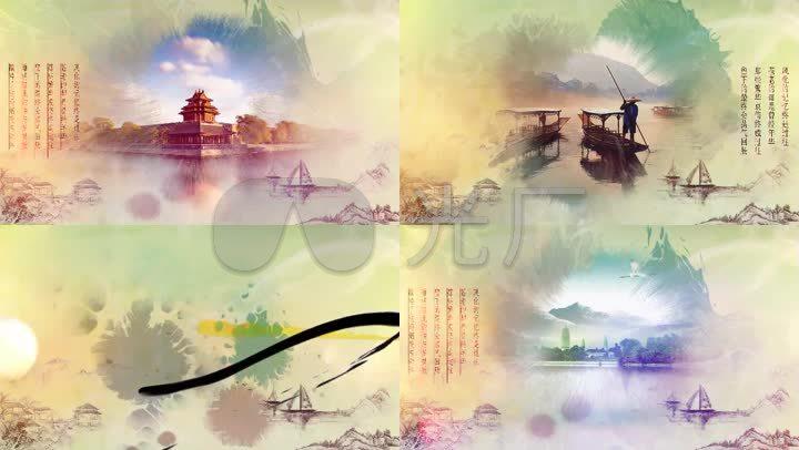 edius6.02水墨中国风宣传模板