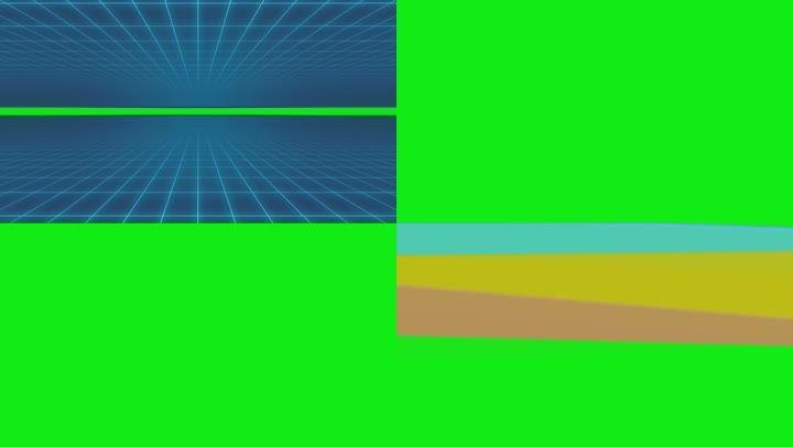科技转场动画