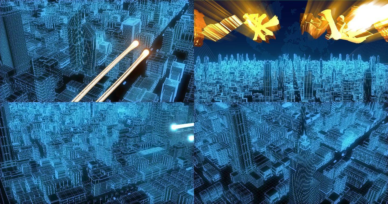 线条科技城市