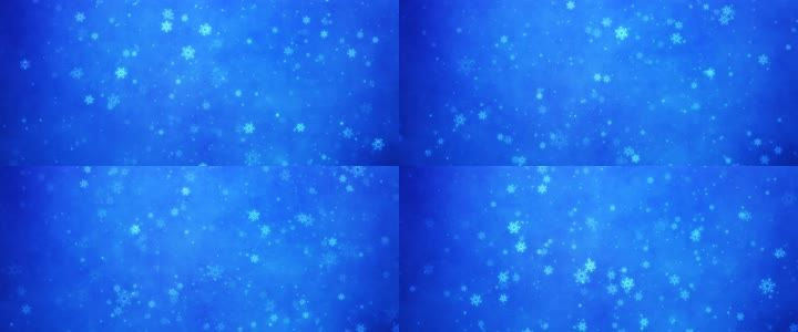 粒子雪花飘落视频圣诞节
