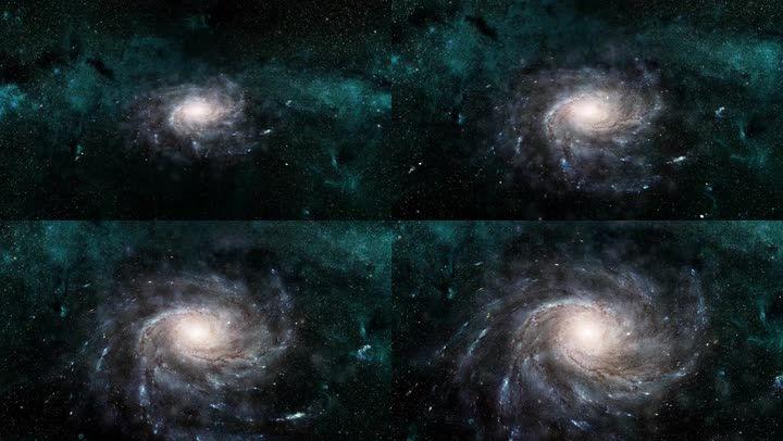 科技感宇宙星空背景