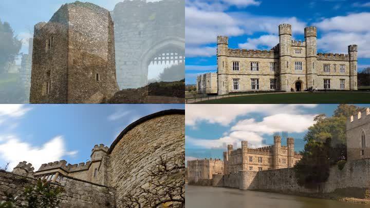 中世纪城堡风景素材
